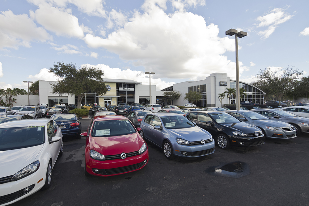 Audi Volkswagen Dealership Service Center And Sales